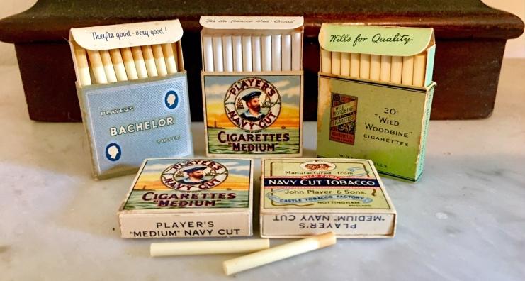 Kiddicraft Miniature Cigarettes circa 1957